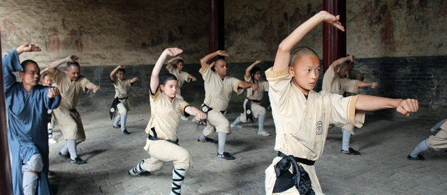 Training at The Shaolin Temple 2016