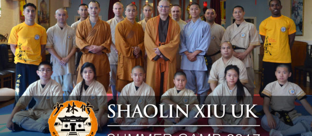 Shaolin Xiu UK – Summer Camp 2017